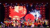 1月19日晚,火箭军某部举办2020年军地迎新春文艺晚会,驻地政府相关领导和部分群众走进军营,与该部官兵及来队军属欢聚一堂,喜迎新春。