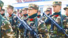 哨位即戰位!武警甘肅總隊執勤支隊嚴格考核新兵執勤能力