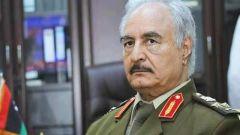 """利比亞問題國際會議召開 新聞人物:利比亞""""國民軍""""領導人——哈夫塔爾"""