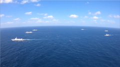 海軍兩批護航編隊完成任務交接