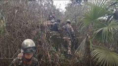 湖南: 武警官兵成功抓捕凶杀案嫌疑人
