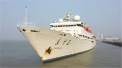 远望号测量船队完成测控任务凯旋