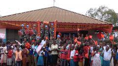 中國赴剛果(金) 維和醫療分隊:兒童村里年味濃