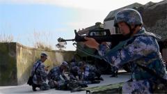 【新春走基层 记者在战位】海军某基地岸岛突击群野外驻训