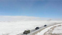 【新春走基层】海拔4500米:顶风冒雪为边关哨所送年货