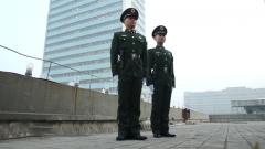 央视春晚最后一次彩排 武警官兵保驾护航