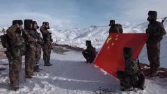 【新春走基层·记者在战位】徒步雪域高原 守望祖国安宁