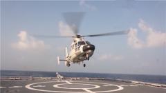 【新春走基层·记者在战位】南部战区海军组织远海联合训练