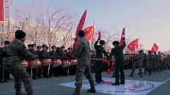 軍營活動嗨翻天 拔河比賽戰味濃