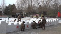 看!部队官兵们用多种方式迎新春