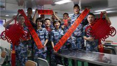 中國海軍第三十三批護航編隊多彩活動慶新春