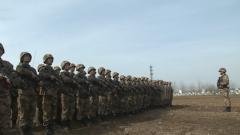 春節第一天 官兵們在戰備演練中度過