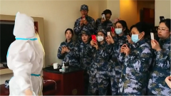 【解放军陆海空三军医疗队450人驰援武汉】医疗队员有序展开疫情防控
