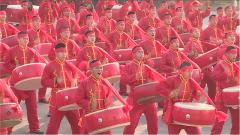 喜慶歡樂滿軍營 官兵同樂鬧新春