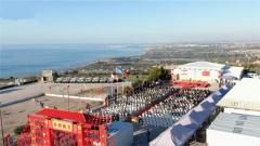 中國第18批赴黎維和部隊開展春節聯歡活動