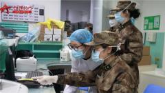 陸軍軍醫大學醫療隊收治首批患者