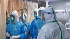 空軍軍醫大學醫療隊進駐武昌醫院展開救治工作