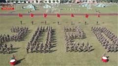 喜迎新春 官兵祝福祖国和全国人民