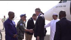 馬里:聯合國副秘書長視察訪問中國維和部隊