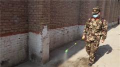 【打贏疫情防控阻擊戰】武警新疆總隊喀什支隊在行動