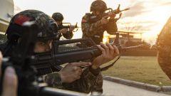 一聲令下,戰斗打響!武警桂林支隊開展實戰化反恐演練