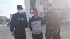 廣西來賓:扒手現身 武警官兵緊急抓捕