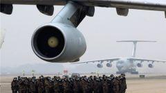 直通疫情防控一线 四地联动 空军八架运输机抵达武汉