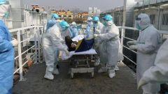 【直通疫情防控一線】火神山醫院收治首批患者