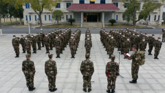 【打赢疫情防控阻击战】武警湖北总队官兵坚守在火神山一线