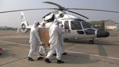 【直通疫情防控一线】武警官兵紧急转运生活和医疗物资