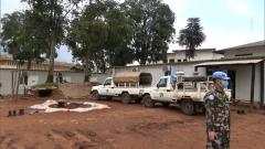 中国赴刚果(金)维和医疗分队协助友军营区防疫消杀
