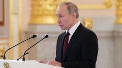 普京:俄愿就军控等问题与美国对话