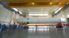 长征五号B遥一运载火箭运抵文昌航天发射场