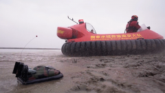 """两栖作战霸气""""神器"""":两栖气垫艇"""