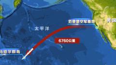 """2020年首次!美国测试""""民兵-3""""洲际弹道导弹"""