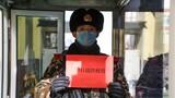 武警新疆总队机动第三支队的官兵们送上的祝福。