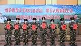 武警新疆总队机动第三支队的官兵们给父母大家送上的祝福。