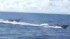 海軍遠海訓練編隊戰備狀態跨過國際日期變更線