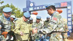 联合国秘书长军事顾问:中国赴达尔富尔维和部队纪律严明能力全面