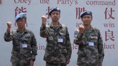 中国蓝盔:我们想对战疫一线的战友们说…