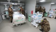 【直通疫情防控一線】記者探訪火神山醫院ICU病房