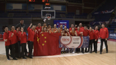 中国女篮进军奥运 用胜利为武汉加油