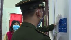 【打贏疫情防控阻擊戰】軍民攜手走街入戶防范疫情
