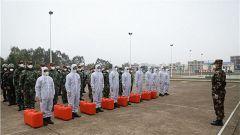 武警钦州支队开展应急拉动演练 增强疫情防控能力