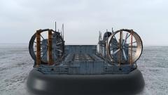 保障海上补给实施海上救援 小小气垫艇为何功能强大