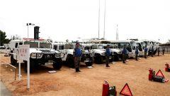 中国维和直升机分队高标准通过联非达团新年度首次装备核查