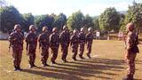 边防勤务训练