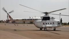 蘇丹達爾富爾 我維和直升機分隊緊急轉運患病友軍