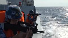 海軍第34批護航編隊多科目實戰化訓練
