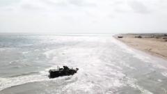 俄國防部公布里海分艦隊登陸演習視頻